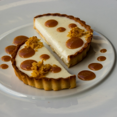Caramel Vanilla Tart-1